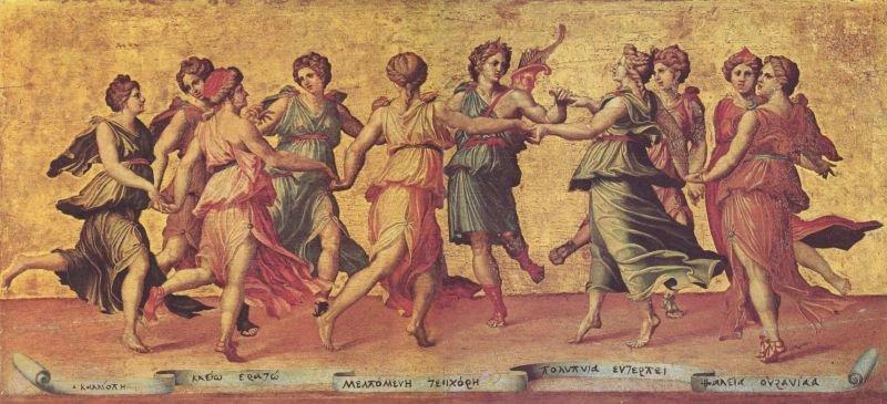 Danza di Apollo con le Muse (Palazzo Pitti, Firenze)