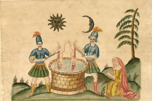 Clavis artis aurea, tav. 15 (XVII sec.)